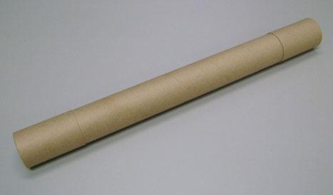Canudo de papelão para embalagem