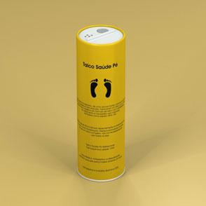 Embalagem tubo de papelão