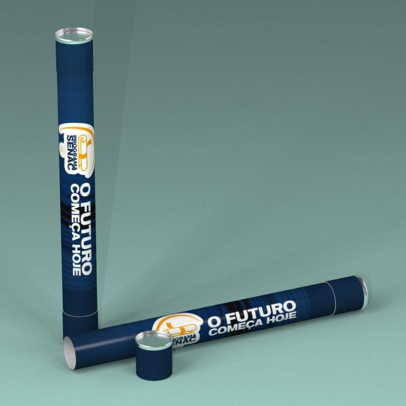Indústria de tubos de papelões