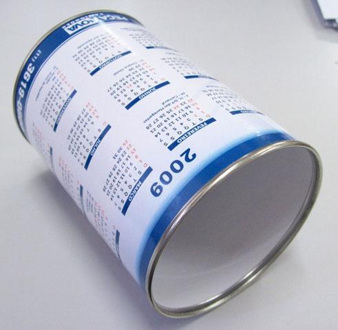 Porta lapis de papelão
