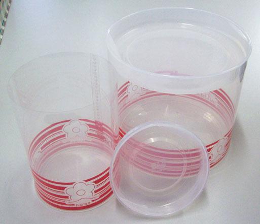 Tubetes de plástico