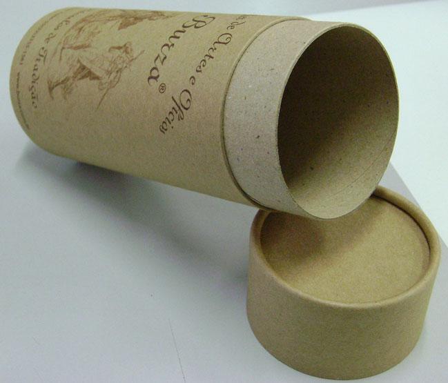 Tubos de papelão kraft